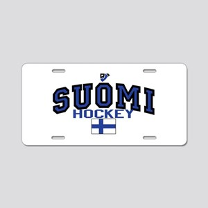 Finland(Suomi) Hockey Aluminum License Plate