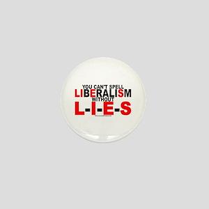 LIbEraliSm - LIES Mini Button