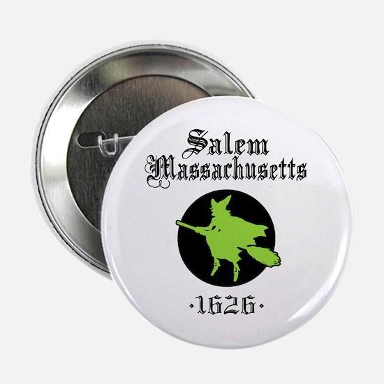 Salem Massachusetts Button