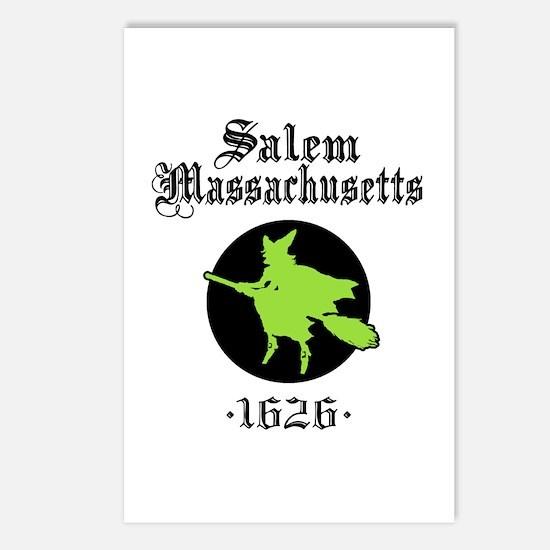 Salem Massachusetts Postcards (Package of 8)