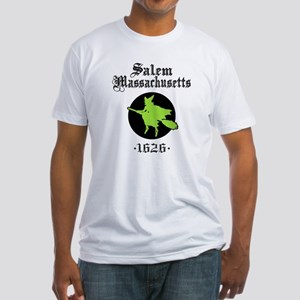 Salem Massachusetts Fitted T-Shirt