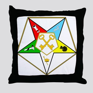 Grand Treasurer Throw Pillow