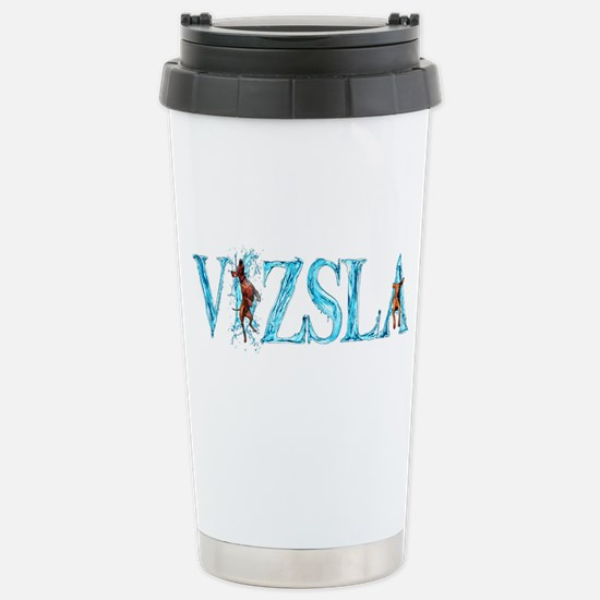 Vizsla (beau) Stainless Steel Travel Mug