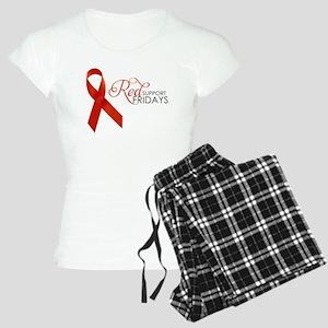 Suppot Red Fridays Women's Light Pajamas