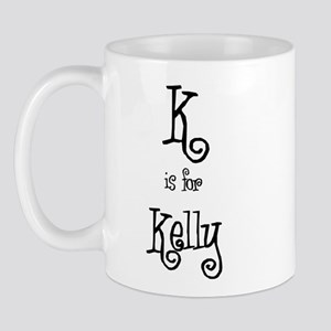 K Is For Kelly Mug