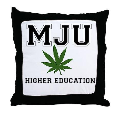 MJU Throw Pillow