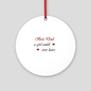 Gifts Dad Will Cherish Ornament (Round)