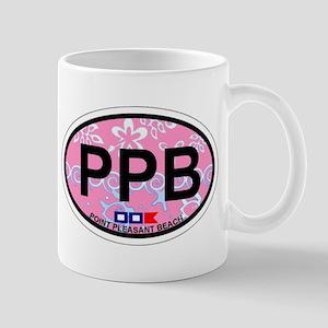 Point Pleasant Beach NJ - Ovall Design Mug
