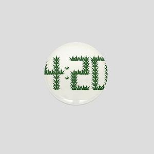 Weed 4:20 Mini Button