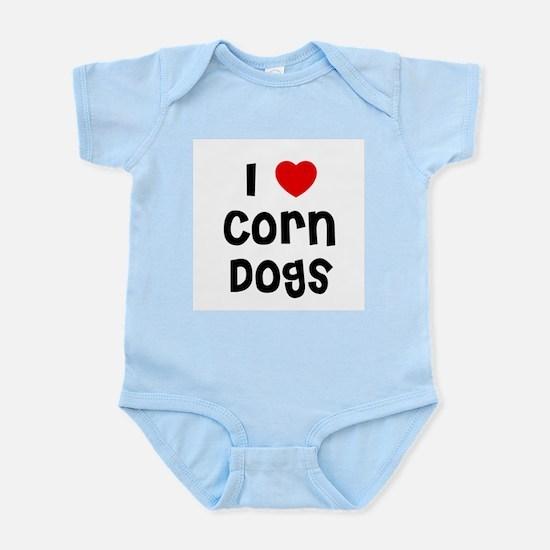 I * Corn Dogs Infant Creeper