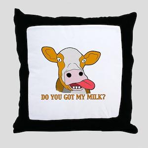 Milk Throw Pillow