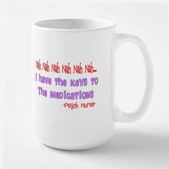 Psych Nurse III Large Mug