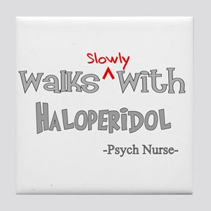 Psych Nurse III Tile Coaster