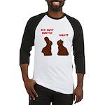 Chocolate Bunnies Baseball Jersey