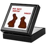 Chocolate Bunnies Keepsake Box
