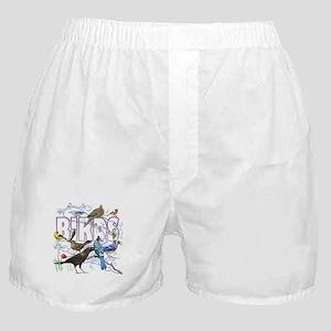 Bird Friends Boxer Shorts