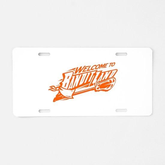 banditland (buufalo bandits) Aluminum License Plat