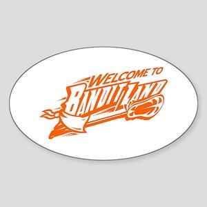 banditland (buufalo bandits) Sticker (Oval)