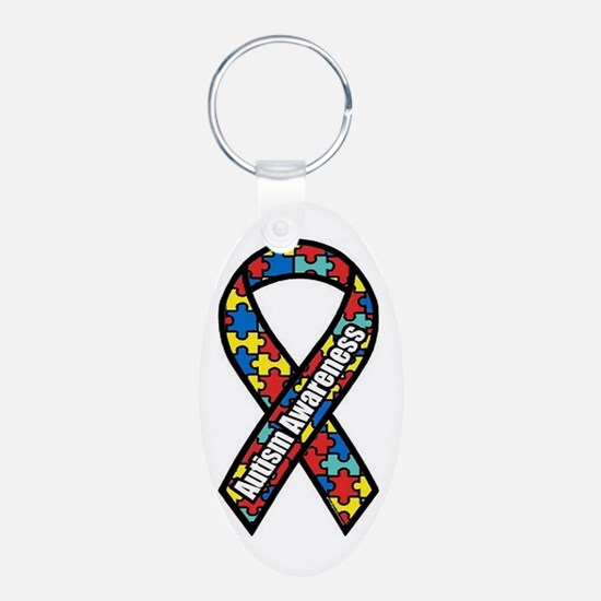 Autism Ribbon Keychains