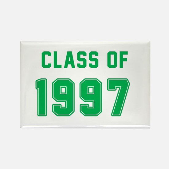 Class of 1997 Green Magnets