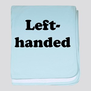Left-handed baby blanket