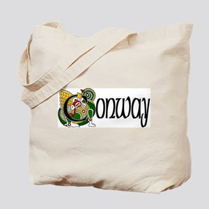Conway Celtic Dragon Tote Bag