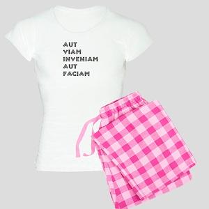 """Aut Viam Inveniam"" Women's Light Pajamas"