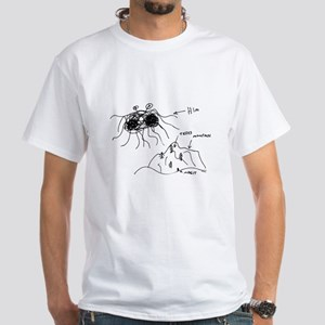 Original Drawing White T-Shirt