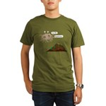 In The Beginning Organic Men's T-Shirt (dark)