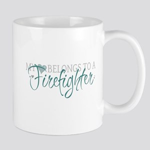 My Heart Belongs to a Firefig Mug