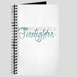 My Heart Belongs to a Firefig Journal