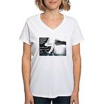 Oz Kidd-Ward poster #2 Women's V-Neck T-Shirt