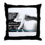 Oz Kidd-Ward poster #2 Throw Pillow