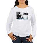 Oz Kidd-Ward poster #2 Women's Long Sleeve T-Shirt