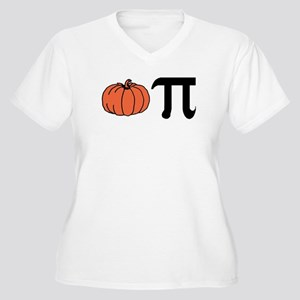Pumpkin Pie Women's Plus Size V-Neck T-Shirt