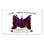 Phoenix of Denver Bellydance Sticker (Rectangle 10