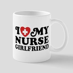 I Love My Nurse Girlfriend Mug