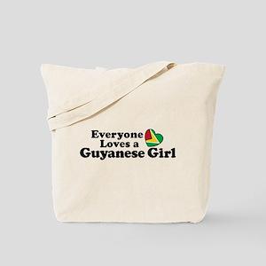 Everyone Loves a Guyanese Girl Tote Bag