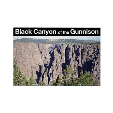 Black Canyon of the Gunnison NP Rectangle Magnet