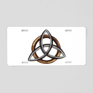 Triquetra Aluminum License Plate