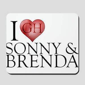 I Heart Sonny & Brenda Mousepad
