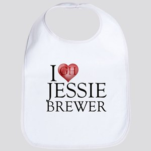 I Heart Jessie Brewer Bib