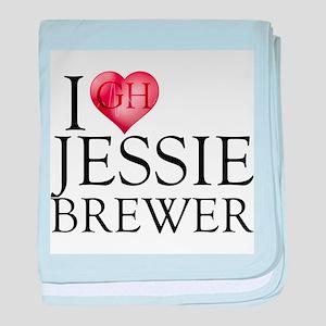 I Heart Jessie Brewer Infant Blanket