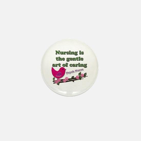 Cool Psych nurse Mini Button