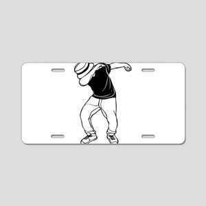dab dance Aluminum License Plate