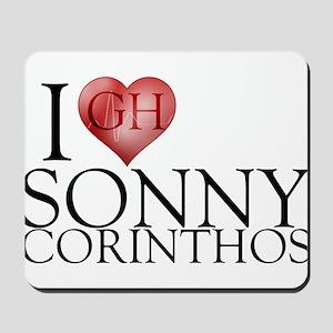 I Heart Sonny Corinthos Mousepad
