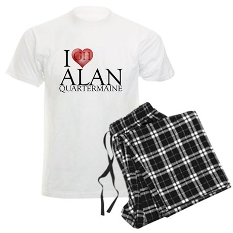 I Heart Alan Quartermaine Men's Light Pajamas