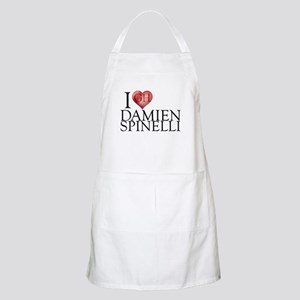 I Heart Damien Spinelli Light Apron
