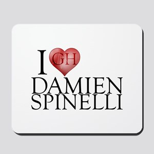 I Heart Damien Spinelli Mousepad