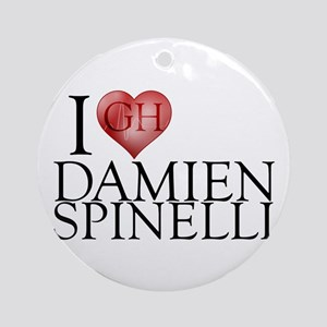 I Heart Damien Spinelli Round Ornament